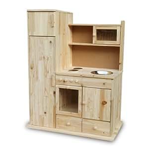 Kinderkuche spielkuche holz kuche kaufladen holzkuche for Holzspielzeug küche