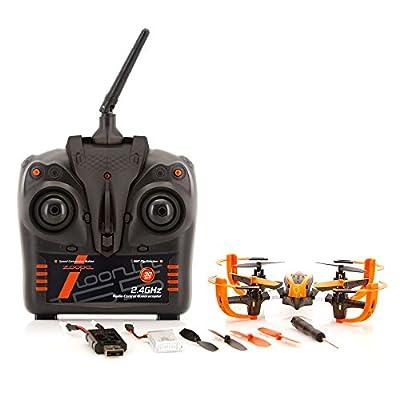 ACME - zoopa Q 155 roonin Quadro   von gutmütig bis rasant   inkl. 2,4GHz Fernsteuerung   Licht   360° Flipfunktion   3 Geschwindigkeiten (ZQ0155)