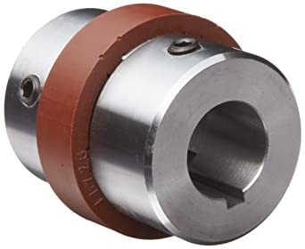 "Boston Gear BF1811/8X11/8 Shaft Coupling, Spider Ring (3-Jaw), Coupling Size BF18, 2.250"" Hub Diameter, 1.125"" Driven Hub Bore, 1.125"" Driver Hub Bore, 2.719"" Max Outer Diameter, 8 horsepower Max HP, 300 pounds per inch Max Torque"