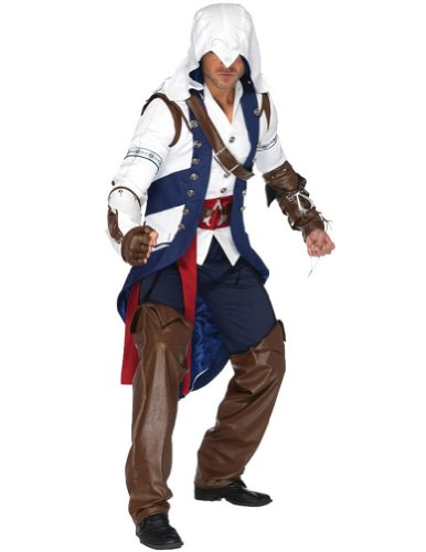 Assassins Creed Connor Mens Costume Md-Lg Adult Mens Costume