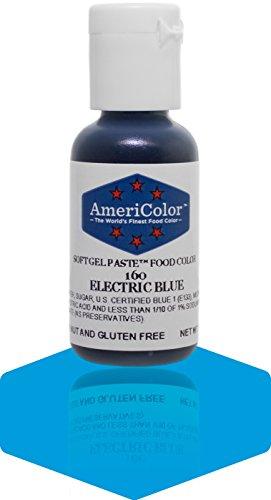 Americolor Soft Gel Paste Food Color, Electric Blue (Americolor Electric Colors compare prices)