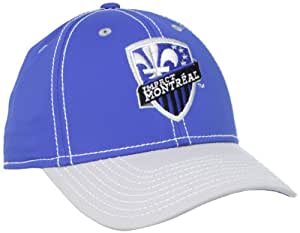 MLS Montreal Impact Authentic Player Hat, S/M, Blue