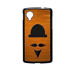 Vibhar printed case back cover for Nexus 5 woodbeard