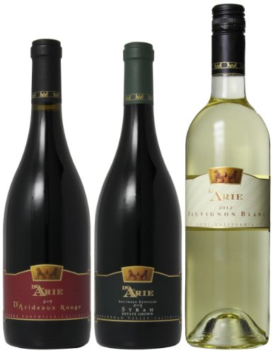 C.G. Di Arie French Wines Mixed Pack, 3 x 750 mL image