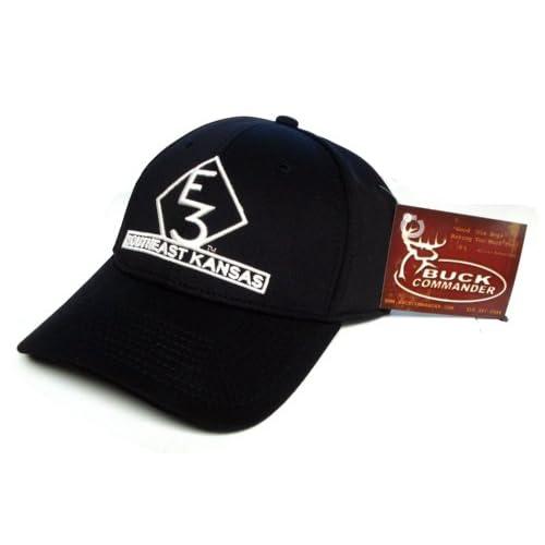 Amazon.com : Buck Commander E3 SOUTHEAST KANSAS Black Hat Cap Hunting