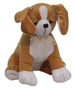 Amardeep Sitting Dog, Brown