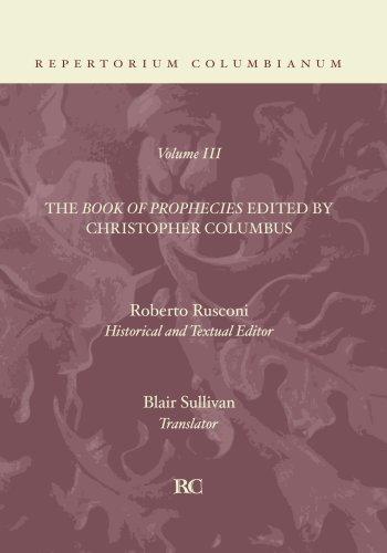 The Book of Prophecies: (Repertorium Columbianum)