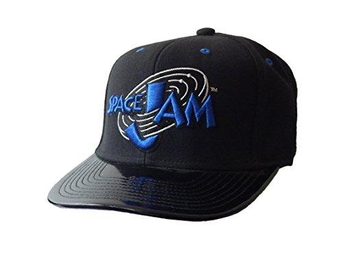 uomo-ragazzi-looney-tunes-iconici-space-jam-berretti-da-baseball-nero-blu