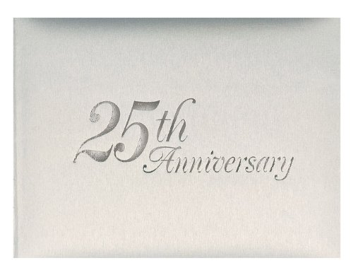 25th-Wedding-Anniversary-Silver-25th-Anniversary-Guest-Book