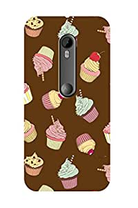 ZAPCASE PRINTED BACK COVER FOR MOTOROLA MOT G TURBO EDITION - Multicolor
