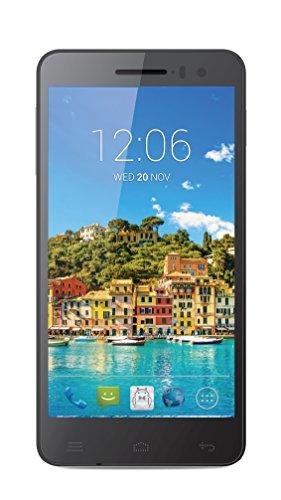"Posh Mobile Titan Hd E500 - Ultra Slim, 5.0"" Hd Display, 4G Gsm Unlocked, Android 4.4 Kit Kat, Octa-Core, 13Mp Camera - 1 Year Usa Warranty - Black"
