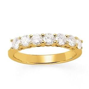 Alliance Diamant - Or 750 Millièmes (18 Carats): 4.00 Gr - Diamant: 0.98 Carat qualité HSI