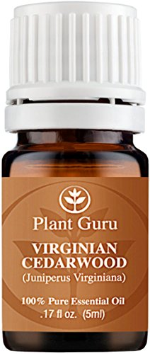 Cedarwood (Virginia) Essential Oil. 5 ml. 100% Pure, Undiluted, Therapeutic Grade.