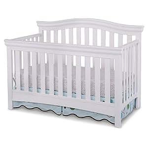 Amazon Com Delta Bennington Bell Curved Lifetime Crib
