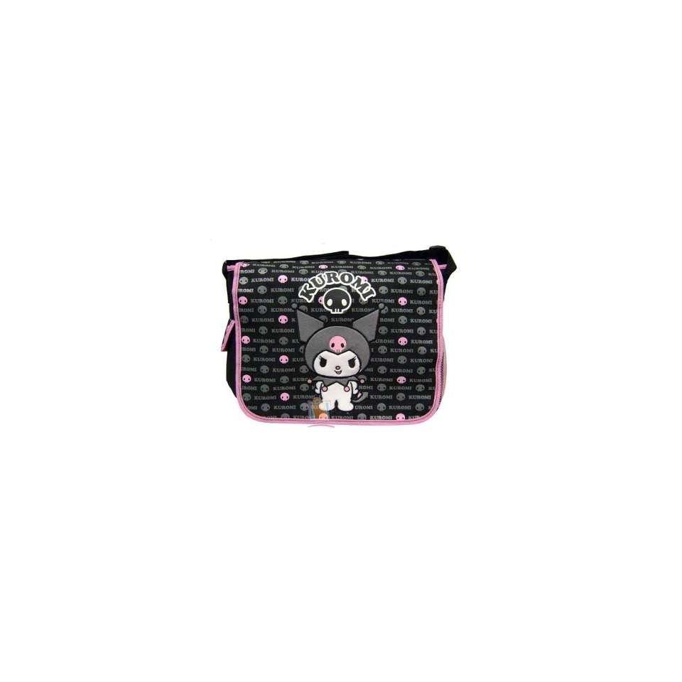 Hello Kitty Kuromi   Black Messenger Bag