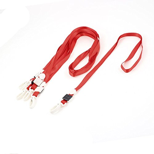 6-titulaire-pcs-ecole-bureau-polyester-neck-lanyard-card-id-red-lobster-w-clip
