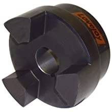 Lovejoy Jaw Coupling, L Type, Jaw Coupling Hub, Sintered Iron, Inch