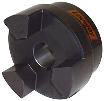Lovejoy Jaw Coupling, L Type, Jaw Coupling Hub, Sintered Iron, Metric