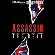 Assassin: An Alex Hawke Thriller Audiobook by Ted Bell Narrated by John Shea