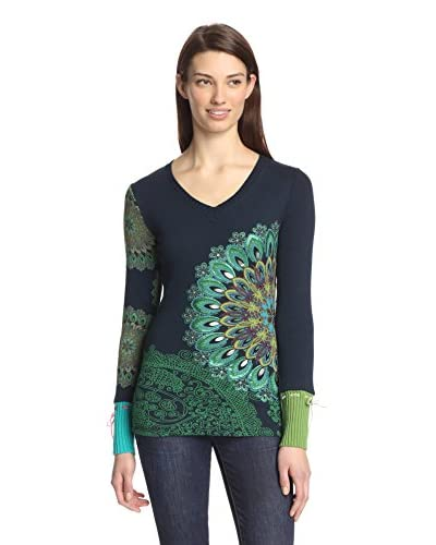 Desigual Women's Embellished Top