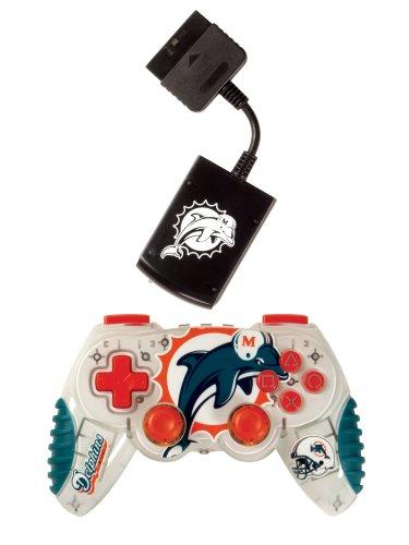 MadCatz-Playstation 2 Miami Dolphins Wireless Game Pad