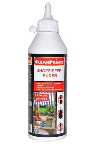 cleanprince ungeziefer puder 500 ml ameisen silberfische insekten kellerasseln krabbelgetier. Black Bedroom Furniture Sets. Home Design Ideas