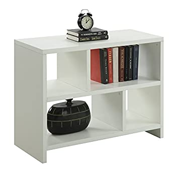 Convenience Concepts Designs2Go Northfield Console Table Bookcase, White