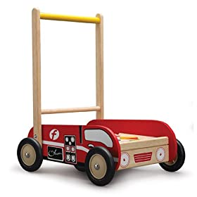 Wonderworld WW-1523 Fire Engine Walker Push Toy