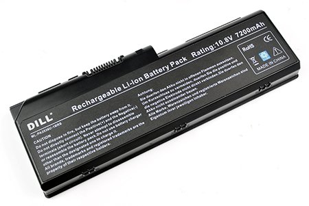 ATC Extended Battery Replacement for L350-S1001X Equium P200 Series Satellite P200 P200D P205 P305 P305D Pro P200 Pro P300 X205 series(9-Cubicle Equivalent) Replace PN:TOSHIBA PA3536U-1BRS PA3537U-1BAS PA3537U-1BRS PABAS100 PABAS101 [10.8V 7200mAh]