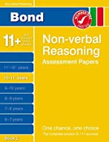 Bond Non-verbal Reasoning Assessment Papers 10-11+ Years Book 2