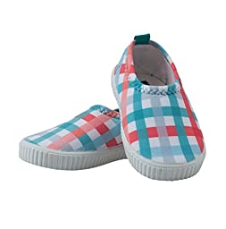 Archimede Beachwear Baby Boys Checks Water Shoes (3T)