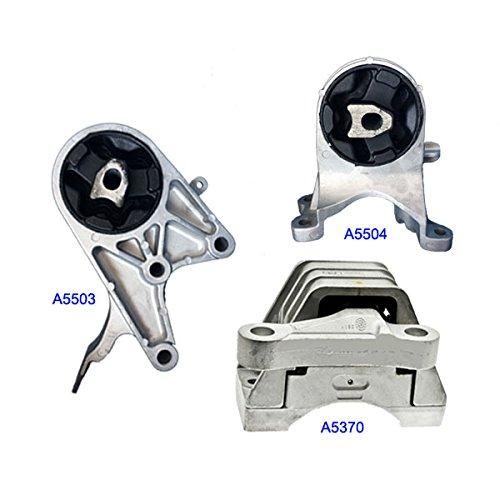 2.4L Mount Set For Chevrolet MALIBU 2009-2012 2 PCS Engine Motor /& Trans