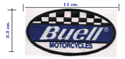 Purchase Iron on Patch Embroidered Motorcycle Buell