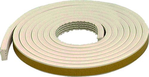 M-D Building Products 63669 All-Climate EPDM Weatherstrip, All Strip, 10 Feet, White