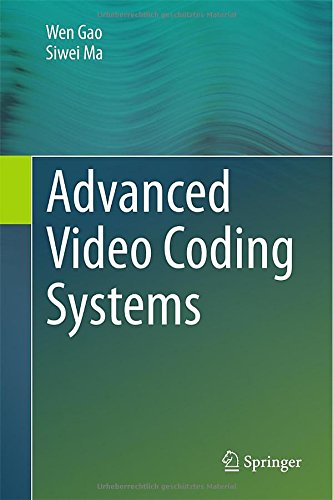 Advanced Video Coding Systems [electronic resource]