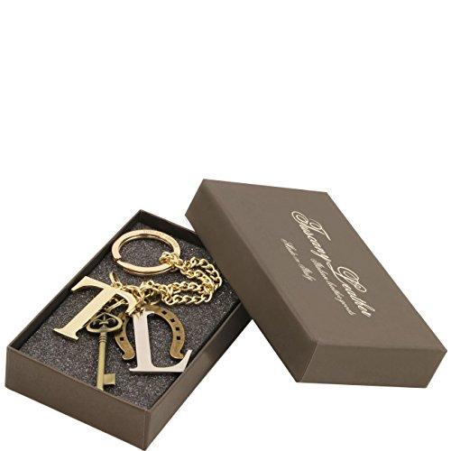 Tuscany Leather TL Keyluck - Esclusivo portachiavi charms Neutro Accessori in pelle donna