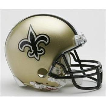 NFL New Orleans Saints Replica Mini Football Helmet at Amazon.com