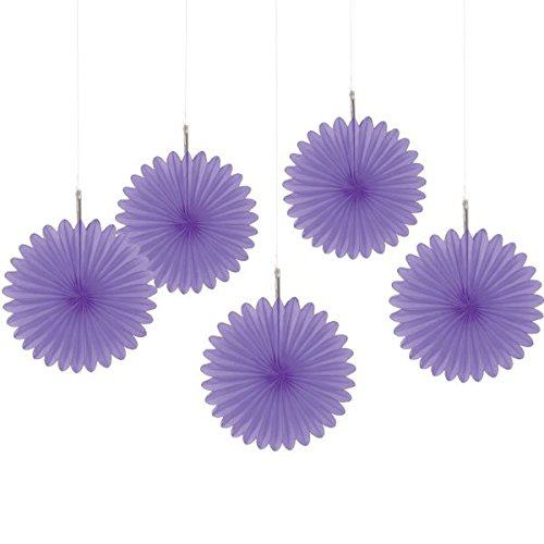 Amscan New Mini Hanging Fan, 6