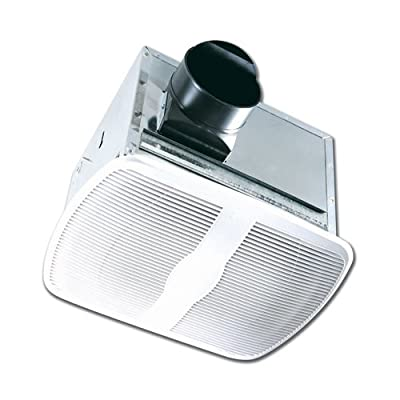 Air King AK80H 80 CFM Humidity Sensing Exhaust Fan from the Quiet Collection,