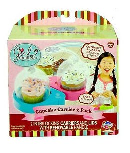 Girl Gourmet Cupcake Carrier 2 Pack