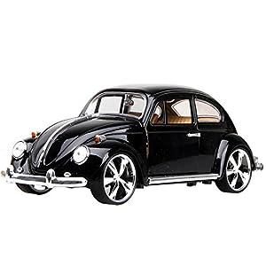 Black Diecast Cars 1:24 Beetle Model Cars Christmas Gift Ideas