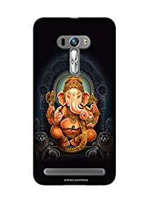 Sowing Happiness Printed Back Cover For Asus Zenfone 2 Laser ZE550 KL