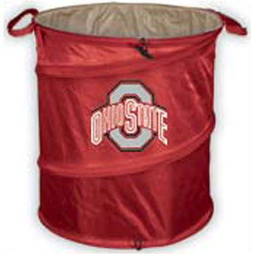 Logo Chair Ohio State Buckeyes Ncaa Collapsible Trash Can Lcc-191-35 front-711340