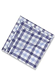 7 Pack Pure Cotton Assorted Handkerchiefs