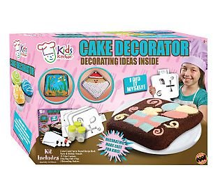 Cake Decorator Deluxe Kit Decoration Made Easy for Kids