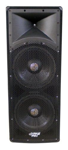 Pyle-Pro Padh153 1600 Watt Dual 15'' 3 Way Pa Speaker Cabinet