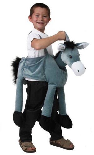 Kids Plush Ride-on Donkey Nativity Costume