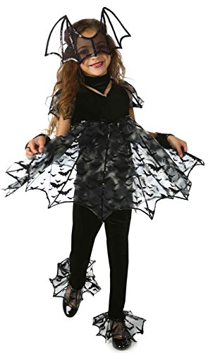 Deluxe Bat Kids Costume - Medium (8)