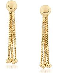 VK Jewels Resplendent Gold Plated Alloy Dangle Earring Set For Women & Girls -ERZ1263G [VKERZ1263G]