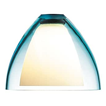 Rainbow I Glass Shade Glass Color: Turquoise